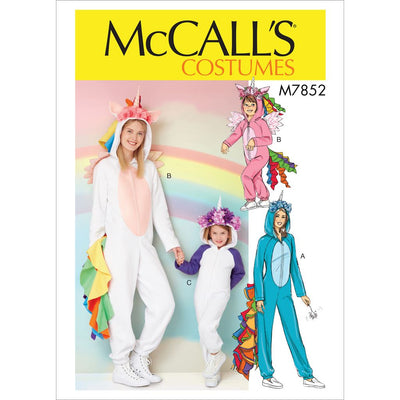 McCall's Pattern M7852 Miss Childrens Girls Costume 7852 Image 1 From Patternsandplains.com