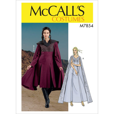 McCall's Pattern M7854 Misses Costume 7854 Image 1 From Patternsandplains.com
