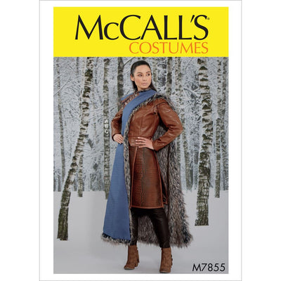 McCall's Pattern M7855 Misses Costume 7855 Image 1 From Patternsandplains.com