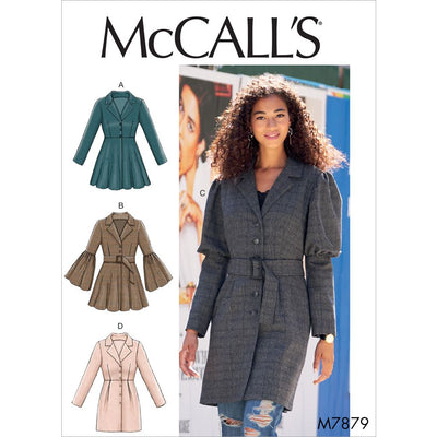 McCall's Pattern M7879 Misses Coats 7879 Image 1 From Patternsandplains.com