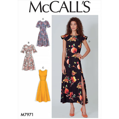 McCall's Pattern M7971 Misses Dresses 7971 Image 1 From Patternsandplains.com