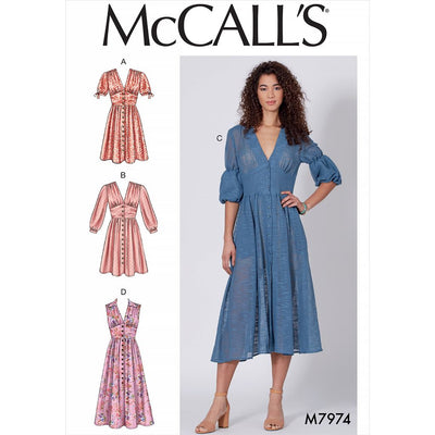 McCall's Pattern M7974 Misses Dresses 7974 Image 1 From Patternsandplains.com