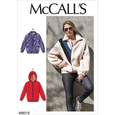 McCall's Pattern M8019 Misses Jackets 8019 Image 1 From Patternsandplains.com