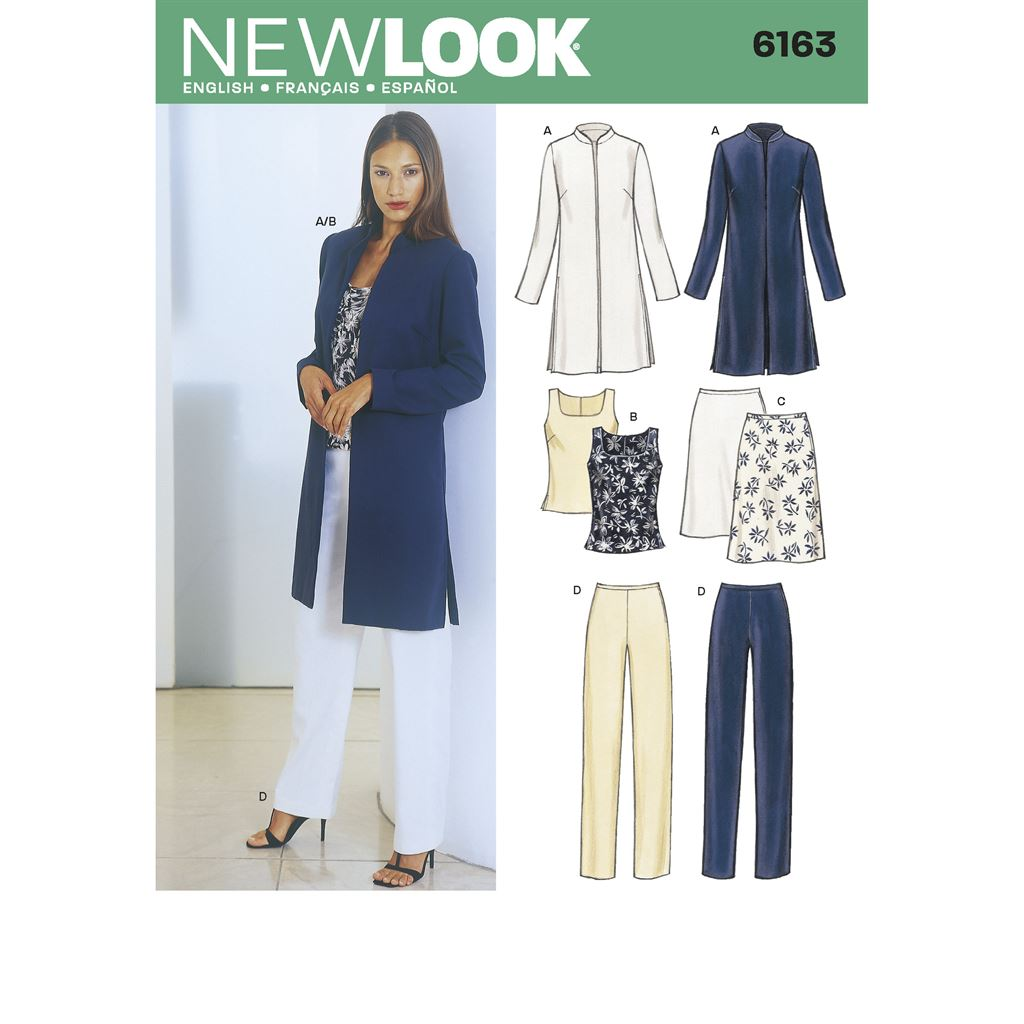 New Look Pattern 6163 Misses Separates Image 1 From Patternsandplains.com