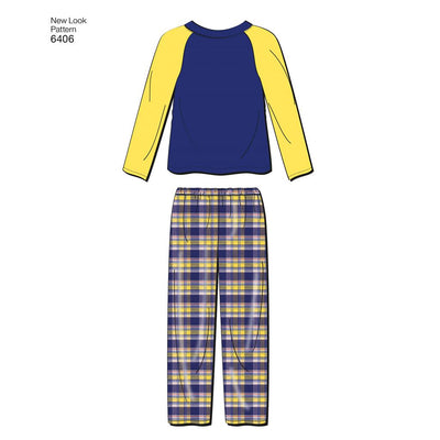 New Look Pattern 6406 Childrens Separates Image 2 From Patternsandplains.com