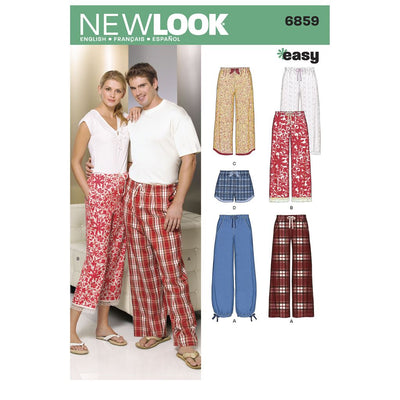 New Look Pattern 6859 Miss Men Separates Image 1 From Patternsandplains.com