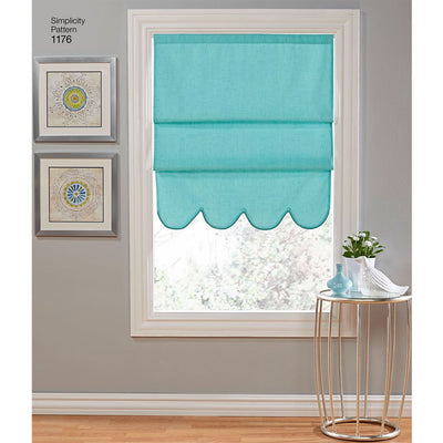 Simplicity Pattern 1176 Window Treatments Image 1 From Patternsandplains.com
