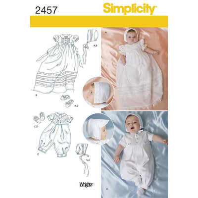 Simplicity Pattern 2457 Babies Special Occasion Image 1 From Patternsandplains.com