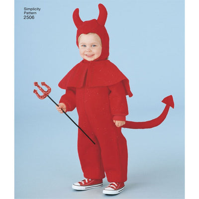 Simplicity Pattern 2506 Toddler Costumes Image 1 From Patternsandplains.com