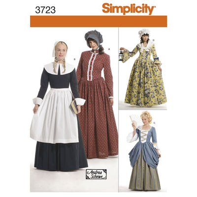 Simplicity Pattern 3723 Womens Costumes Image 1 From Patternsandplains.com