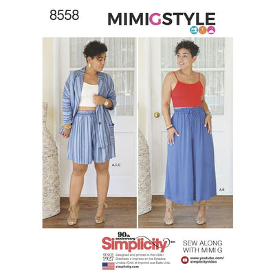 Simplicity Pattern 8558 Womens Separates by Mimi G Style Image 1 From Patternsandplains.com