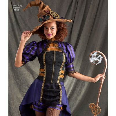 Simplicity Pattern 8719 Womens Costumes Image 3 From Patternsandplains.com