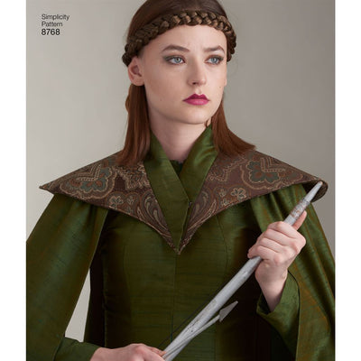 Simplicity Pattern 8768 Womens Fantasy Costumes Image 7 From Patternsandplains.com
