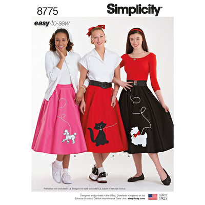 Simplicity Pattern 8775 Womens Costumes Image 1 From Patternsandplains.com