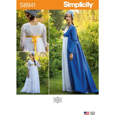 Simplicity Sewing Pattern S8941 Misses Costume 8941 Image 1 From Patternsandplains.com