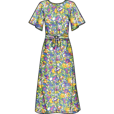 Simplicity Sewing Pattern S8981 Misses Front Tie Dress Size 6-14