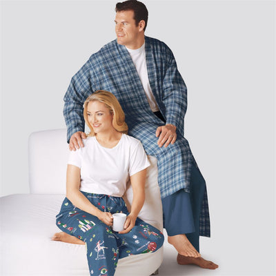 Simplicity Sewing Pattern S9131 Unisex Sleepwear 9131 Image 2 From Patternsandplains.com