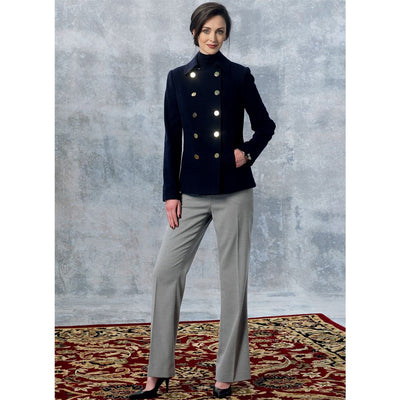 Vogue Pattern V1467 Misses Jacket and Pants 1467 Image 3 From Patternsandplains.com.jpg