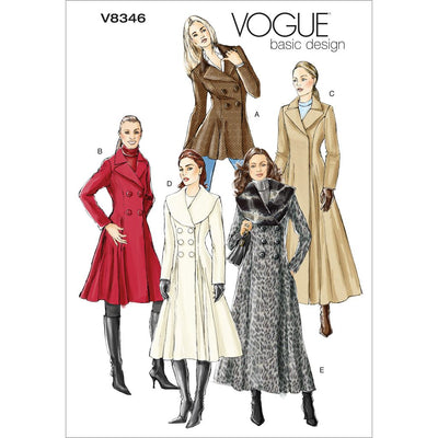 Vogue Pattern V8346 Misses Coat 8346 Image 1 From Patternsandplains.com