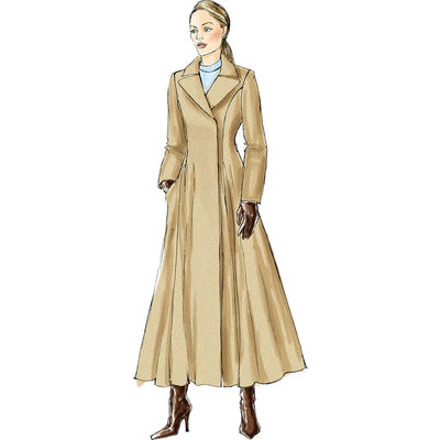 Vogue Pattern V8346 Misses Coat 8346 Image 9 From Patternsandplains.com.jpg