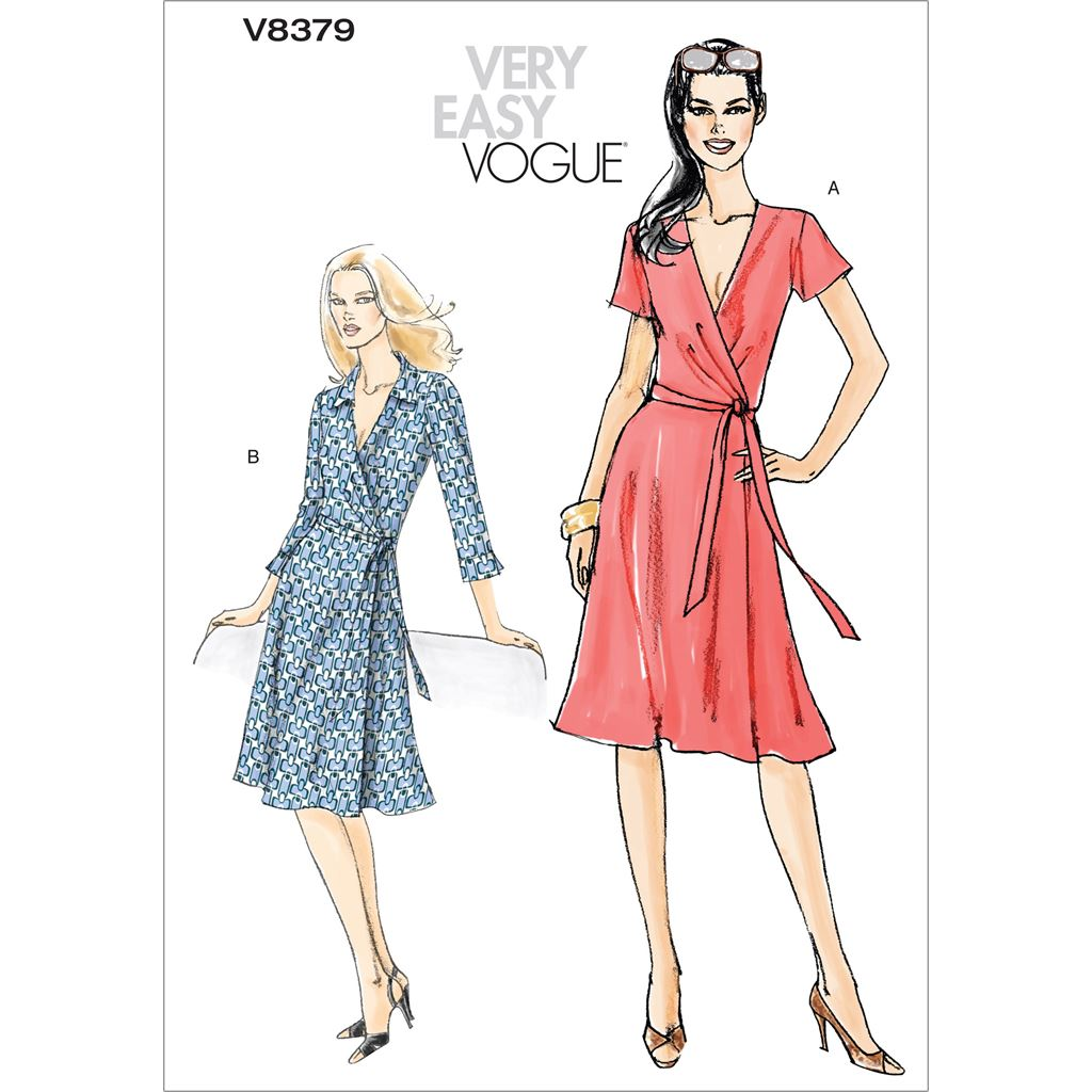 Vogue Pattern V8379 Misses Dress 8379 Image 1 From Patternsandplains.com