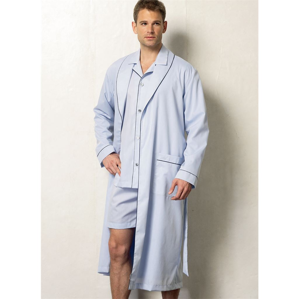 Size MXX Shorts and Pants Sewing Template Top VOGUE PATTERNS V8964 Mens Robe