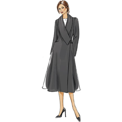 Vogue Pattern V9040 Misses Coat 9040 Image 10 From Patternsandplains.com.jpg