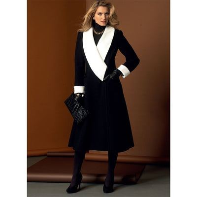 Vogue Pattern V9040 Misses Coat 9040 Image 2 From Patternsandplains.com.jpg