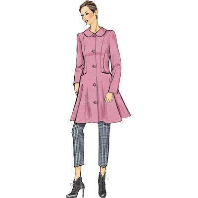 Vogue Pattern V9040 Misses Coat 9040 Image 6 From Patternsandplains.com.jpg