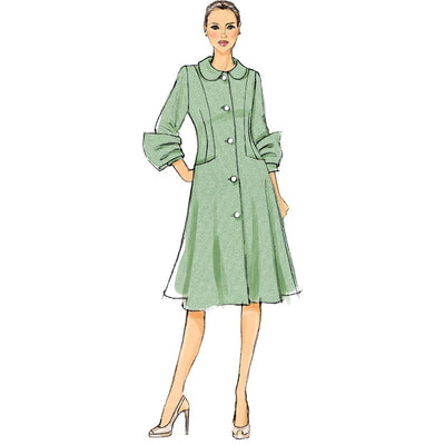 Vogue Pattern V9040 Misses Coat 9040 Image 7 From Patternsandplains.com.jpg