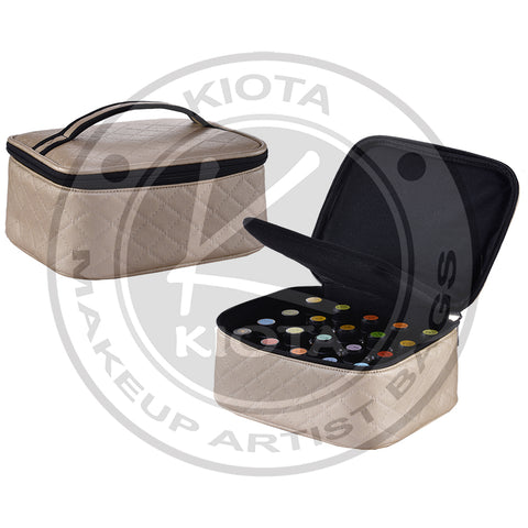 KIOTA - Essential Oil Padded Storage Carrying Case Organizer - Hold 20 Bottles - Aptlee Designs