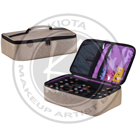 KIOTA - Essential Oil & Diffuser Portable Organizing Case Fits 30 of 15ml/5ml, Plus 16 of 2ml bottles - Aptlee Designs