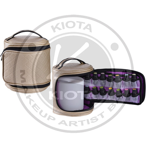 KIOTA - Essential Oil & Diffuser Portable Organizing Case Fits 16 of 15ml/5ml/2ml bottles - Aptlee Designs