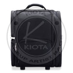 KIOTA - Rolling Makeup Cosmetic Case w/ Organizer Pouches Soft-sided Nylon Fabric - Aptlee Designs
