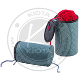 DeNOA - Knitting and Yarn Drum Holder - Quilted Design Wool Storage Organizer - Aptlee Designs