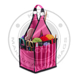 DeNOA - Knitting Hobby Art & Craft Storage Organizer Tote Bag - Aptlee Designs