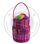 DeNOA - Quilted Knitting and Sewing Storage Bag - Aptlee Designs