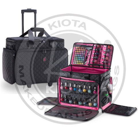 KIOTA - Artist Soft Makeup Case Cosmetic Trolley - Aptlee Designs