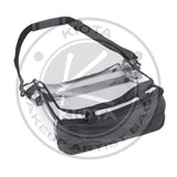 KIOTA - Clear PVC Makeup Artist Travel Set Bag with Strap - Aptlee Designs