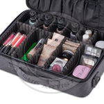 KIOTA - Professional On-The-Go Makeup Box - Dural Layers Trolley attachment and Backpack strap - Aptlee Designs