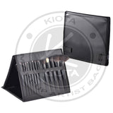 KIOTA - Double sided Portable Makeup Brushes Folder Display - Aptlee Designs