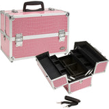 KIOTA - Professional Makeup Artist Cosmetic Train Case w/ Extendable Trays - Aptlee Designs