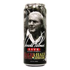 Arizona Arnold Palmer Lite Half & Half Iced Tea Lemonade 23oz. cans 24 per case