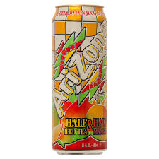 Arizona Half & Half Iced Tea Mango 23oz. cans 24 per case