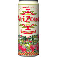 Arizona Kiwi Strawberry 23oz. cans 24 per case