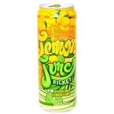 Arizona Lemon Lime Rickey 23oz. cans 24 per case