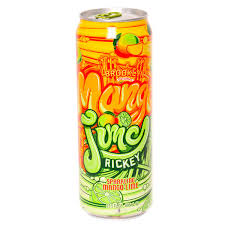 Arizona Mango Lime Rickey 23oz. cans 24 per case
