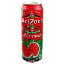 Arizona Watermelon 23oz. cans 24 per case