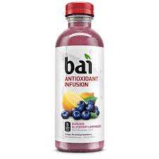 Bai Blueberry Lemonade 18oz. bottles 24 per case