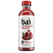 Bai Ipanema Pomegranate 18oz. bottles 24 per case